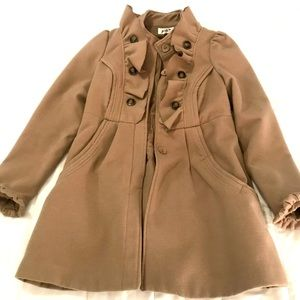 Tan Dressy Winter Jacket